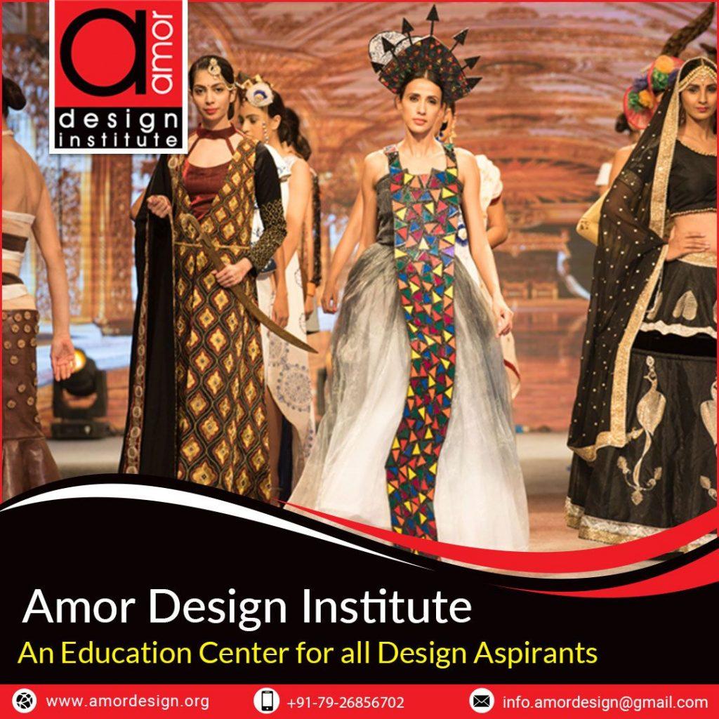 Amor Design Institute Ahmedabad Gujarat | Best Fashion Designer Center Indian