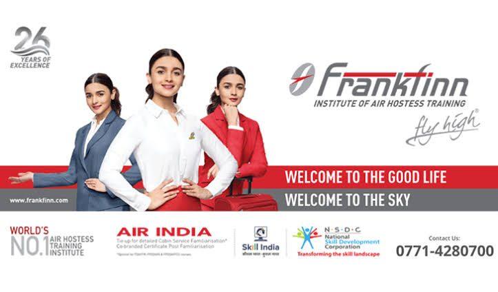 Frankfinn Institute of Air Hostess Training Delhi INDIA