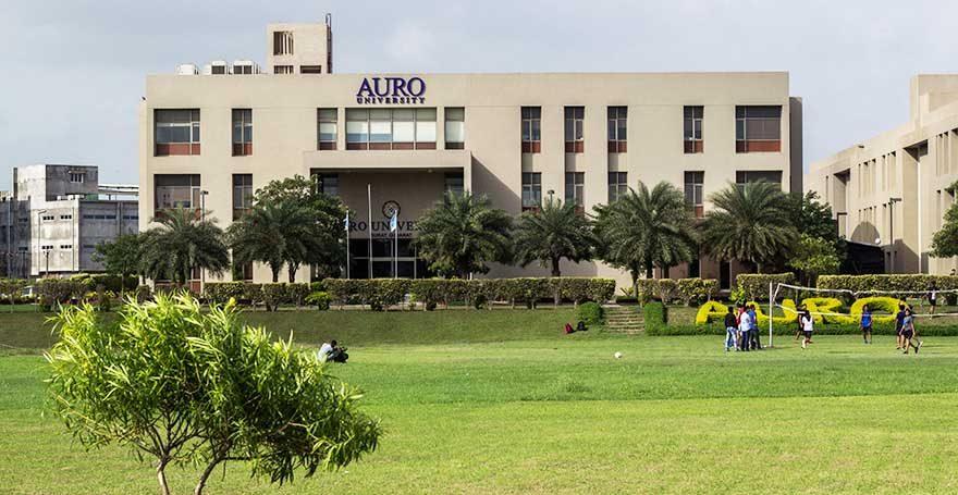 AURO UNIVERSITY   Best Journalism College in Surat