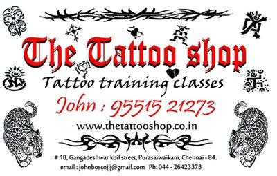 The Tattoo Shop Purasawalkam