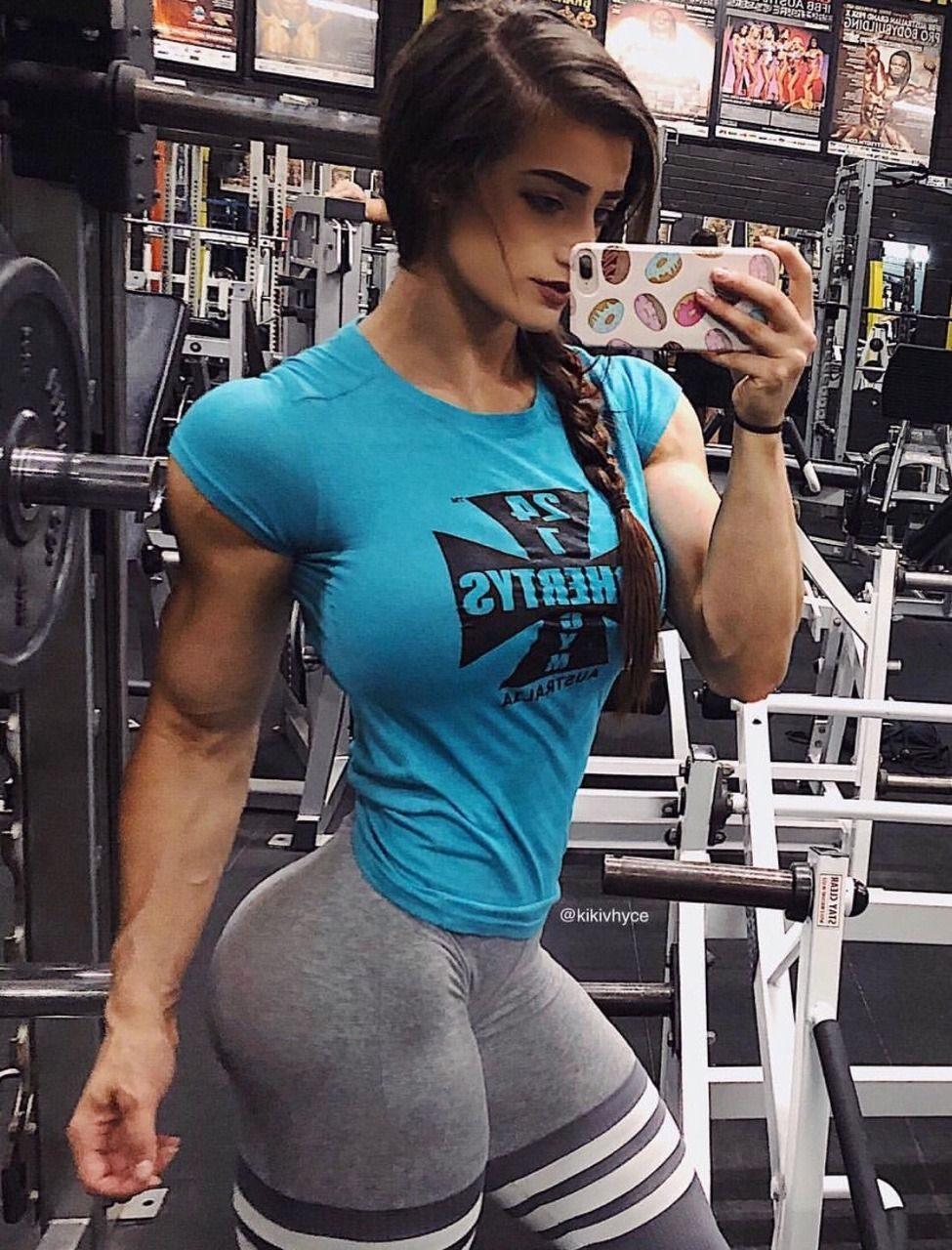 body builder women