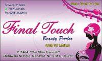 Final Touch Beauty Parlours Surat