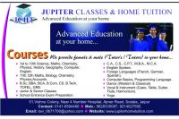Jupiter Classes And Home Tuition in Jaipur