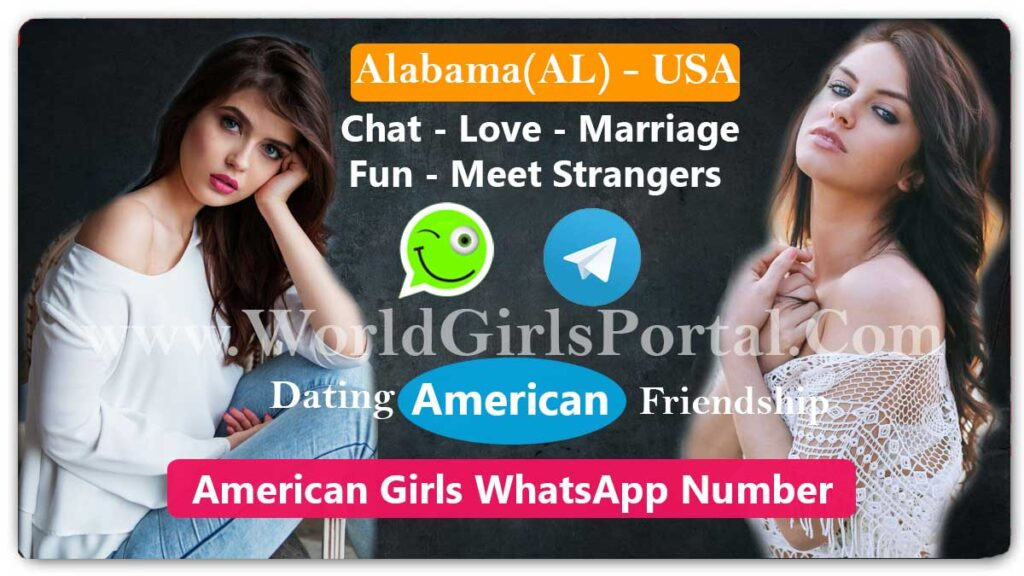 Alabama Girls WhatsApp Number American Women - USA State | World Girls Portal