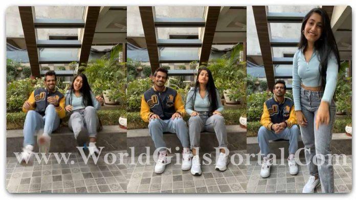 Dhanashree Verma and Yuzvendra Chahal The Footwork challenge Video: #CoupleGoal Dhanashree के साथ फिर कदम थिरकाते दिखे Yuzvendra, बन गए हैं पक्के डांसर!